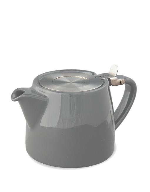 Teapot Stump 400 ml grey