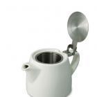Teapot Stump 400 ml white opened