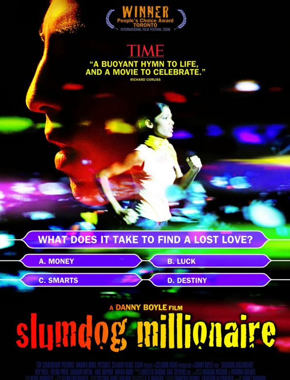 Slumdog Millionaire – Admission ticket May 31