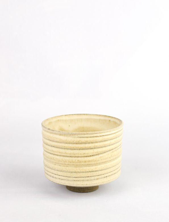 Kezemura glazed clay cup