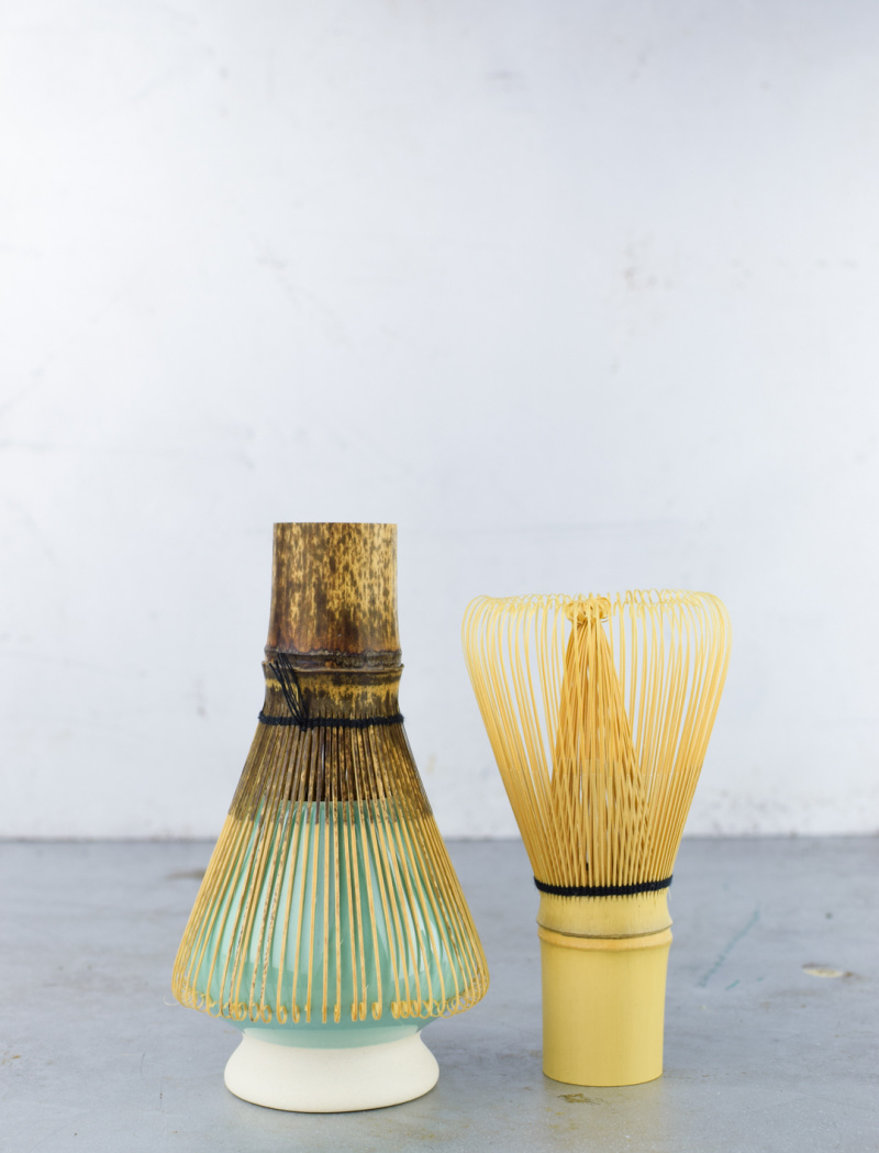 Classic bamboo chasen