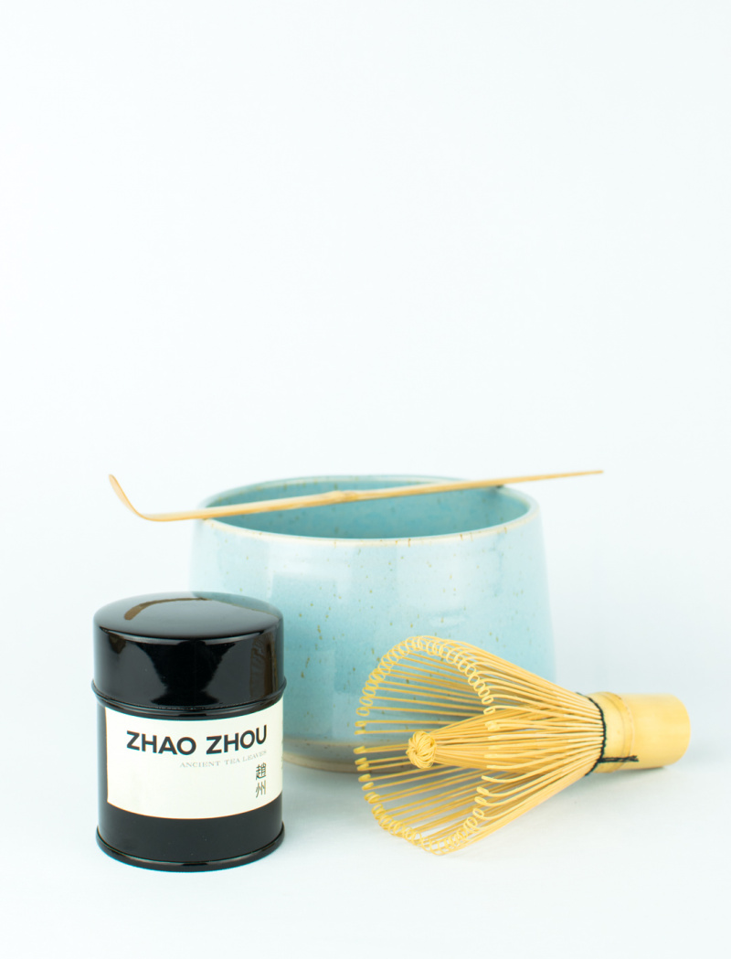 Matcha set by Kezemura