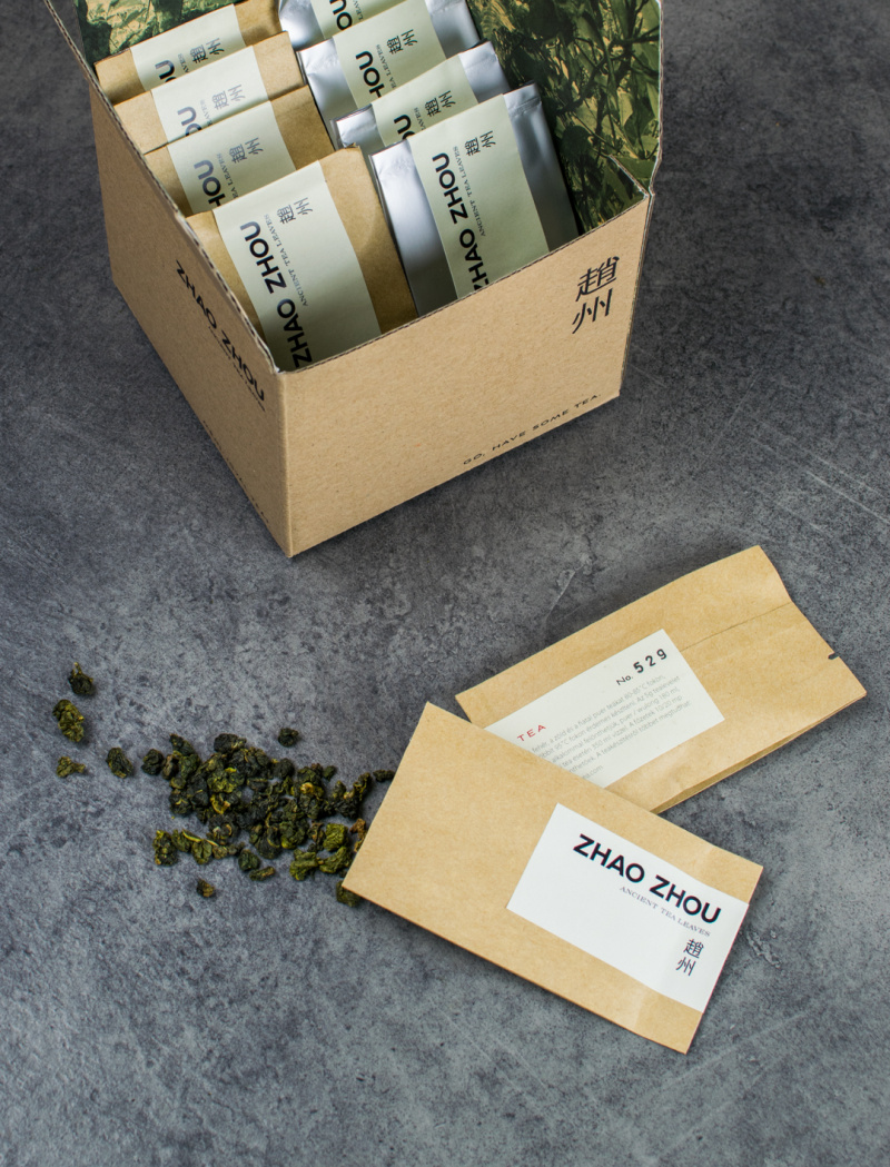 Oolong tea sampler box