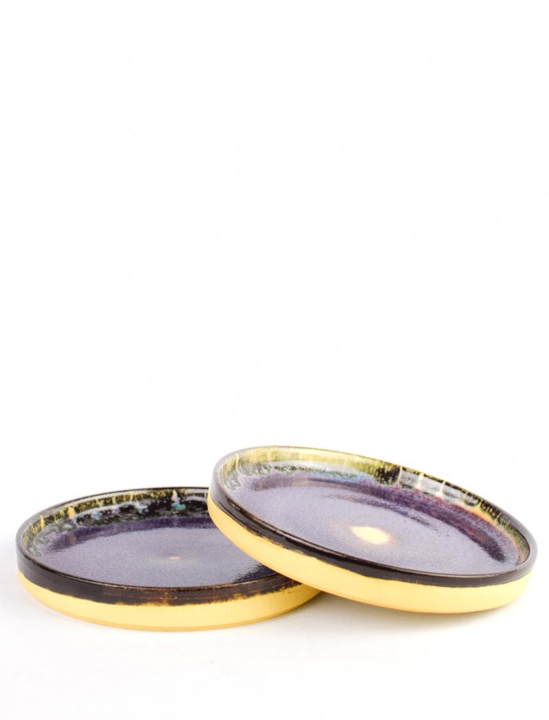 Glazed clay plate – Czakó ceramics