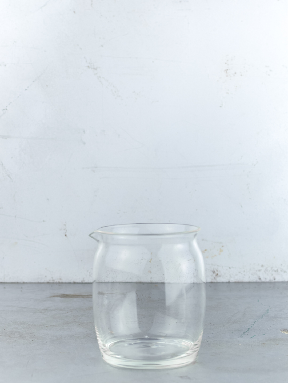 Glass tea pitcher