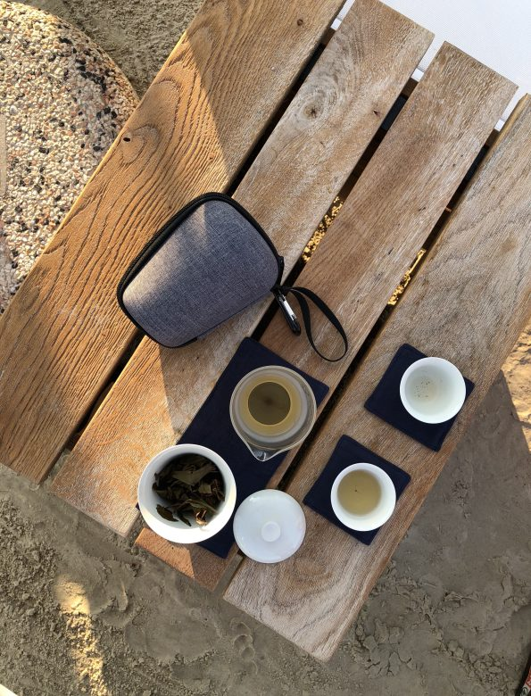 Explorer's tea travel set