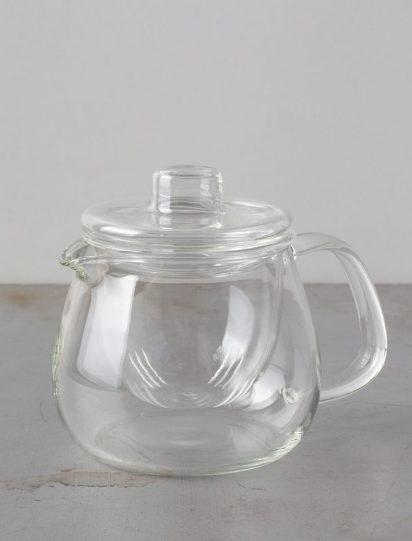 Kinto Unitea glass teapot – glass stainer