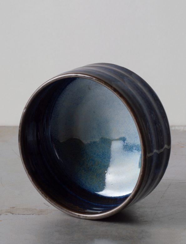 Glazed chawan by Tünde Ruzicska