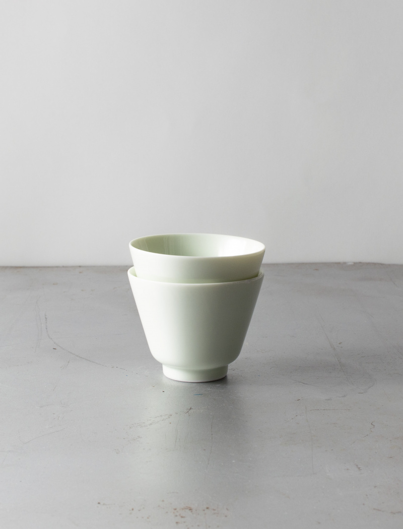 Tea cup – Bamboo blue