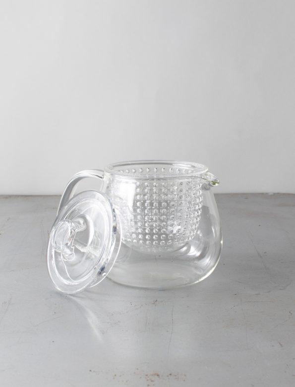 Kinto Unitea üveg teáskanna – műanyag szűrővel