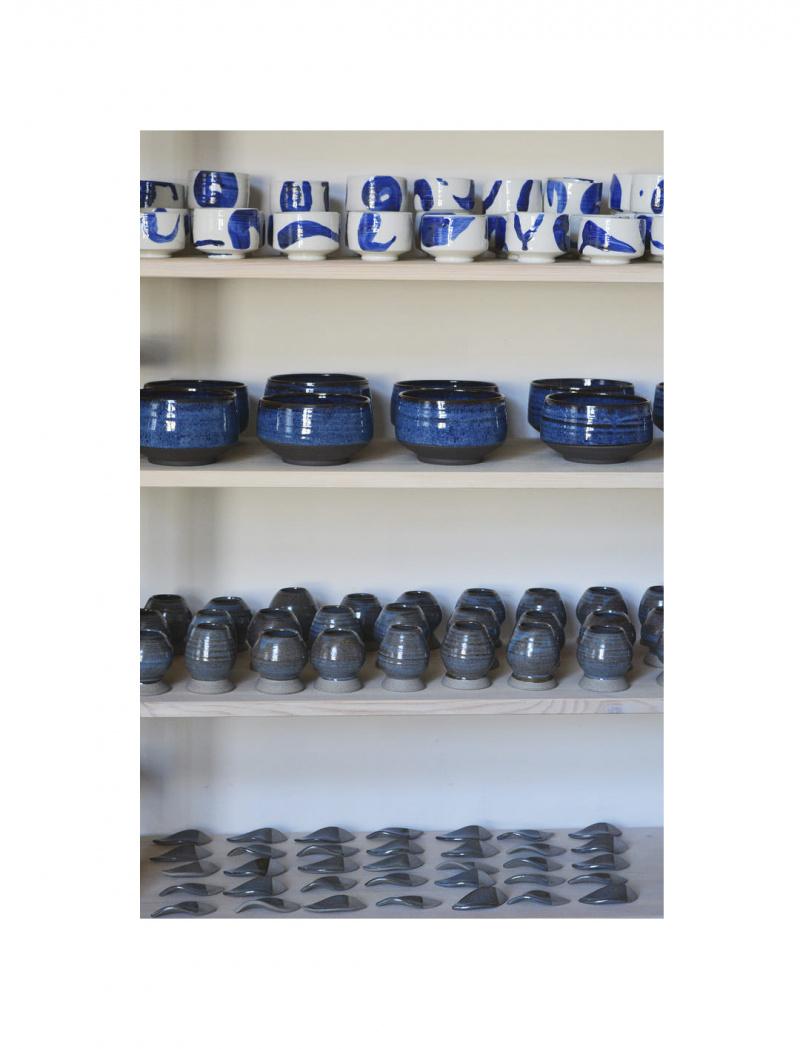 Kobalt kék teáscsésze – Ruzicska Tünde